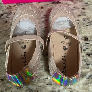 New! Adorable Rosegold Mary Jane Flats